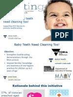 Babys Teeth Need Brushing Too