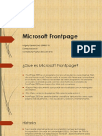 Microsoft Fronpage Angely Ojeda 31C Comp III