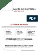 La Reconstrucción Del Significado (Bordieu), Lizarazo Arias