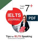 IELTS Journal_Tips for Ielts Speaking