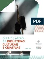 SN - Guia de Apoio as Industrias Culturais e Criativas