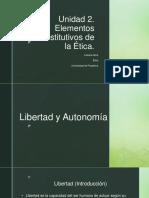 Libertad y Autonomia - Etica de Max y Min