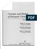 Concepts and Models of Inorganic Chemistry Douglas