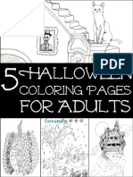 5 Halloween Coloring Pages for Adults.pdf