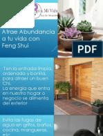Atrae La Abundancia a Tu Vida Con Feng Shui