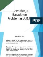 4 . Aprendizaje Basado en Proyectos