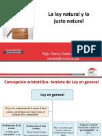 1 La Ley Natural y Lo Justo Natural