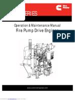Fire Pump Drive Engines
