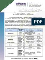 Edital Reitoria Nº 07 Vestibular 2020.1