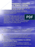 pharmacy central sterile area