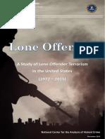 FBI Lone Offender Terrorism Report