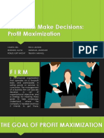 How Firms Make Decisions