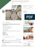 Kit Com 3 Ecopads - Discos de Crochê No Elo7 _ Meow Miau • Crochet Ateliê (C37569)