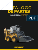 CATALOGO DE PARTES MICHIGAN CARGADOR MP45