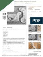 Ecopad Kit 6 Discos Crochê 100% Algodão + Necessaire no Elo7 _ Fios de Moira (CB17F0)