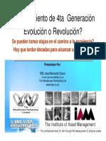 Mantenimiento 4ta generacion  - Revolucion Vs. Evolucion jduran.pdf