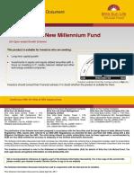SID Birla Sun Life New Millenium Fund