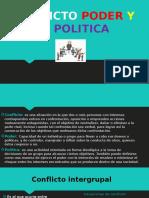 Conflicto Poder y Politica Diapositivas