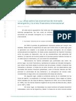 Frenkel (2010) - Tres Notas Sobre Las Economías Emergentes y La Crisis Internacional