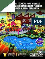 Referências Técnicas Para Atuação de Psicólogas Em Políticas Públicas de Mobilidade Humana e Trânsito 1