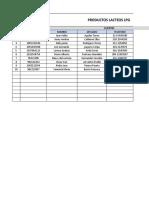 Actividad de funciones de Excel - SENA