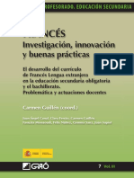 Innovación en docencia de lengua francesa