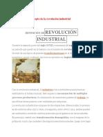 Definición De revolución Industrial -Tema 3