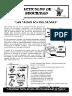 LAS CAIDAS DOLOROSAS