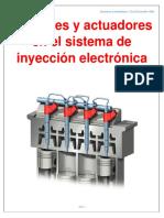 Sensores y Actuadores en El Sistema de Inyección Electrónica
