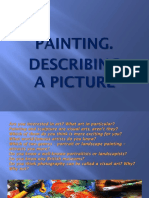 Презентация Painting. Describing a Picture