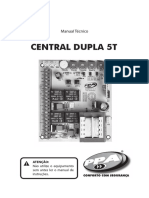 Manual Central Dupla 5T 2016