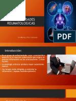 Onceava Sesion - Enfermedades Reumatologicas