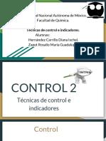_ Técnicas de Control e Indicadores.