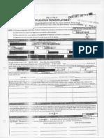 Javier Ortiz Application