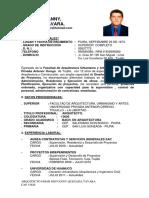 C.v Arq Omar Quezada 2013