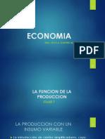 Clase 7 Economia La Funcion de La Produccion Produccion