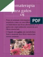 Aromaterapia Para Gatos