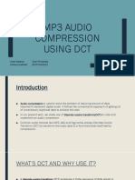 MP3 Audio Compression Using DCT