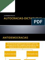 AUTOCRACIAS-DICTADURAS