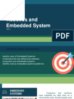 Embedded Systems andd Robotics