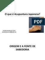 O Que é Acupuntura Japonesa