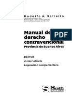Manual de Derecho Contravencional