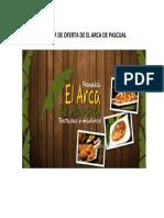Circular de Oferta de El Arca de Pascual
