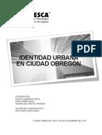 Identidad Urbana en Ciudad Obregon