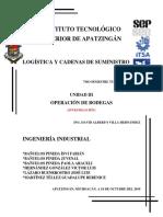 Lógistica u3_programación de Bodegas