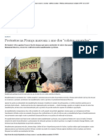 Protestos na França marcam 1 ano dos ″coletes amarelos″ _ Notícias internacionais e análises _ DW _ 16.11.2019