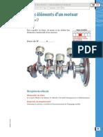 Identifier Les Éléments d Un Moteur Tâche Professionnelle PDF