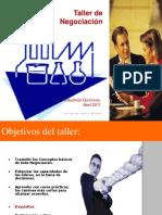 [PD] Presentaciones - Taller de Negociacion