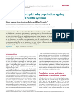 Population ageing and health care