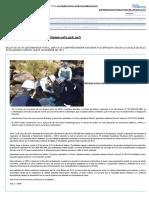 Multa de 56 Uit Determinada Por El Oefa a La Compañía Minera Antamina Fue Impuesta Según La Escala de Multas y Penalidades Vigente Hasta Noviembre de 2012 – Oefa